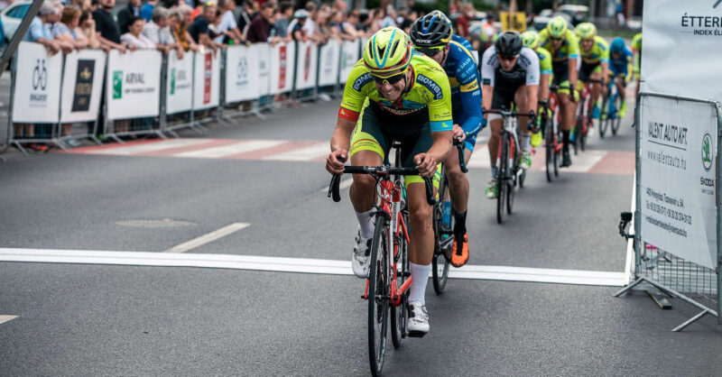 A criterium closes this year's One Belt One Road Hungary race